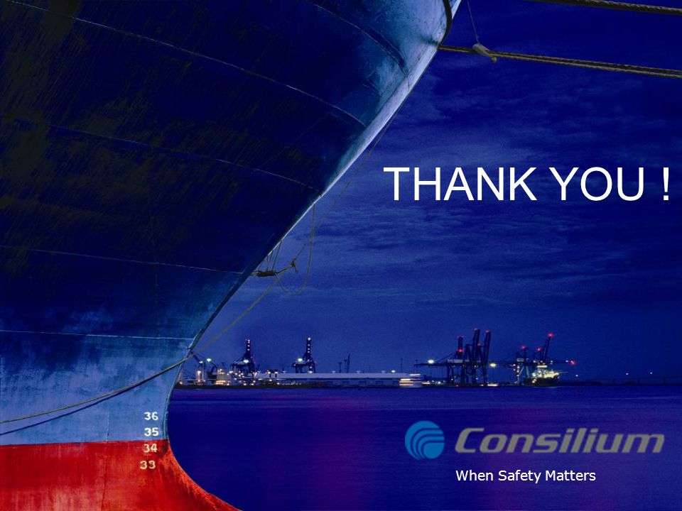 THANK YOU ! Consilium Selesmar Radar