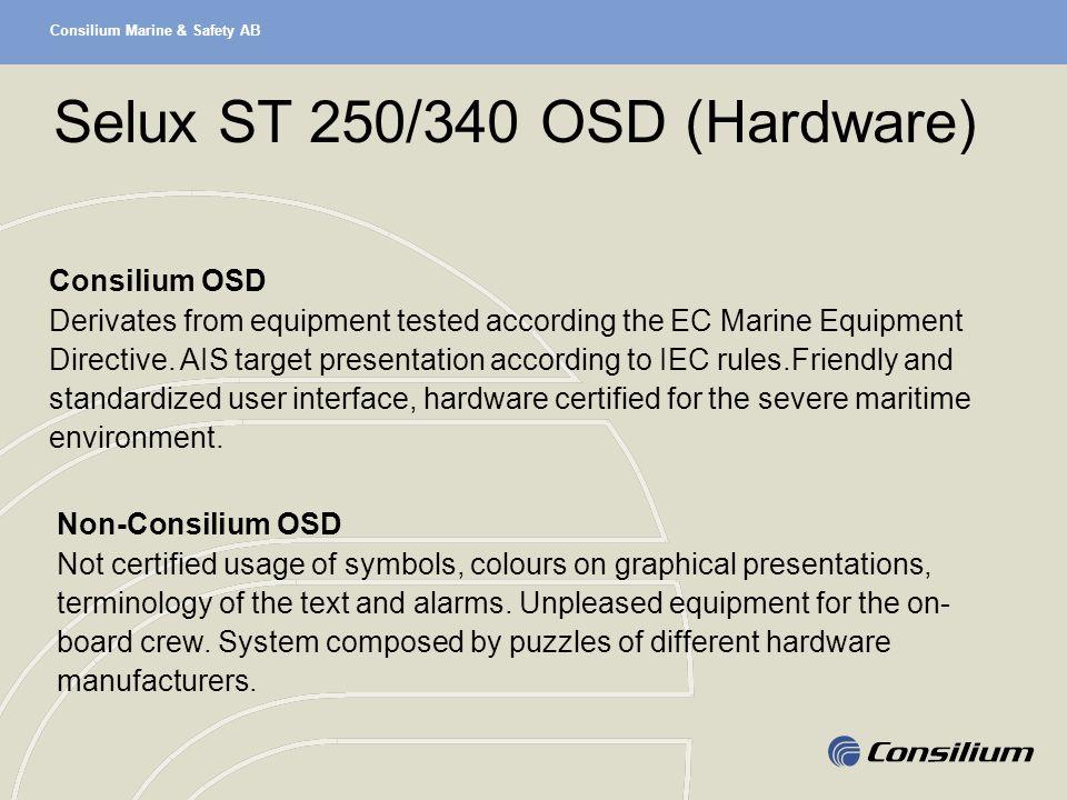 Selux ST 250/340 OSD (Hardware)