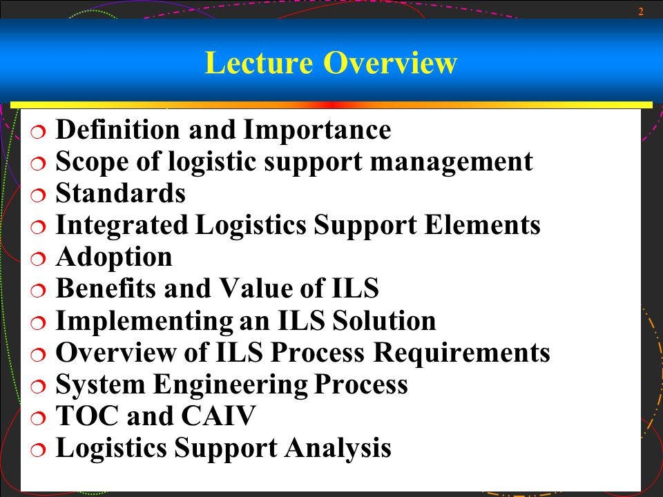 Lecture Overview Definition and Importance