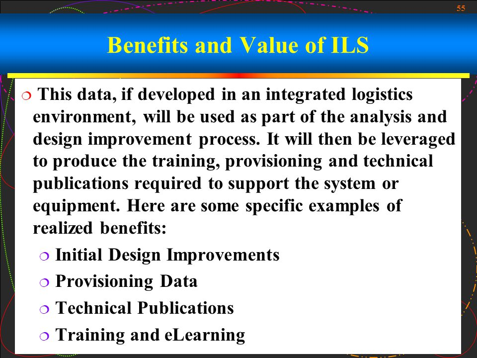 Benefits and Value of ILS