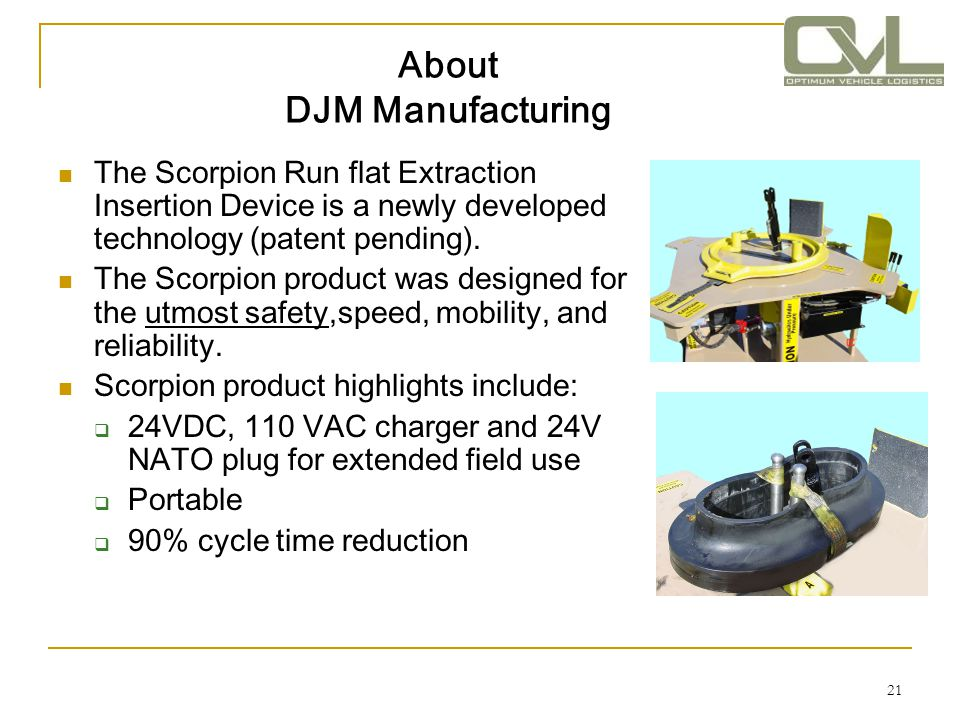 About DJM Manufacturing