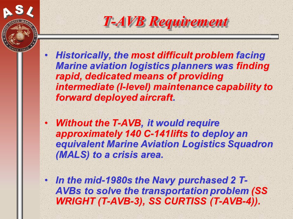 T-AVB Requirement