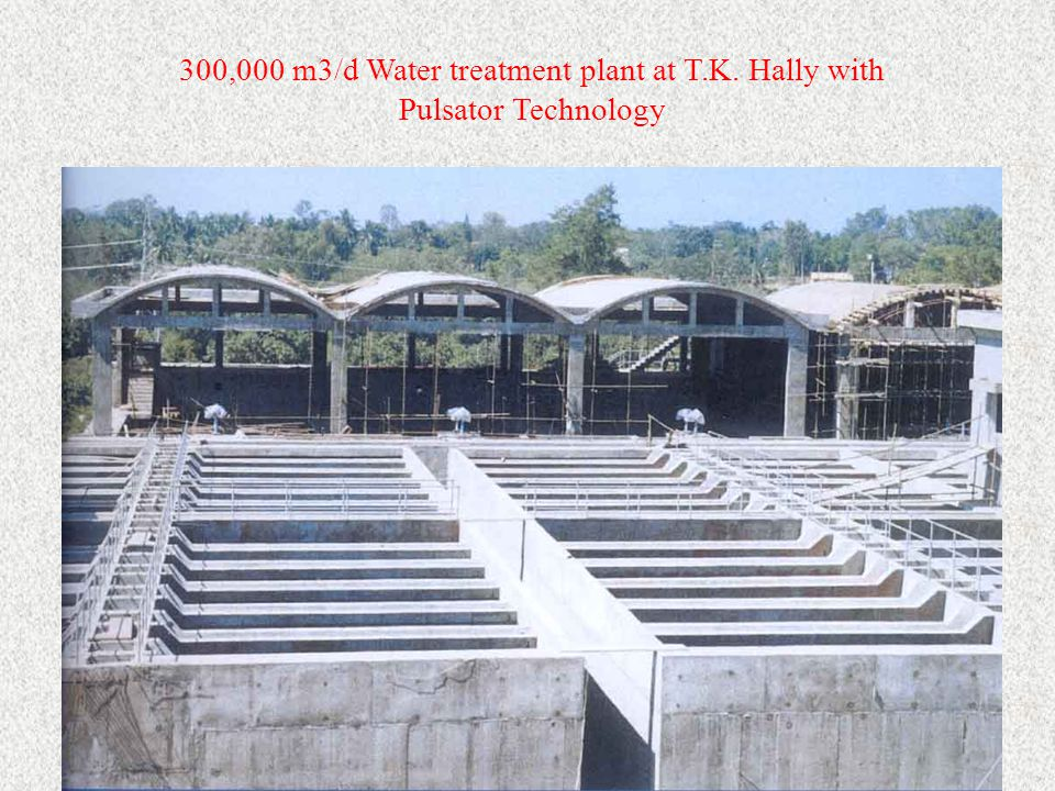 300,000 m3/d Water treatment plant at T. K