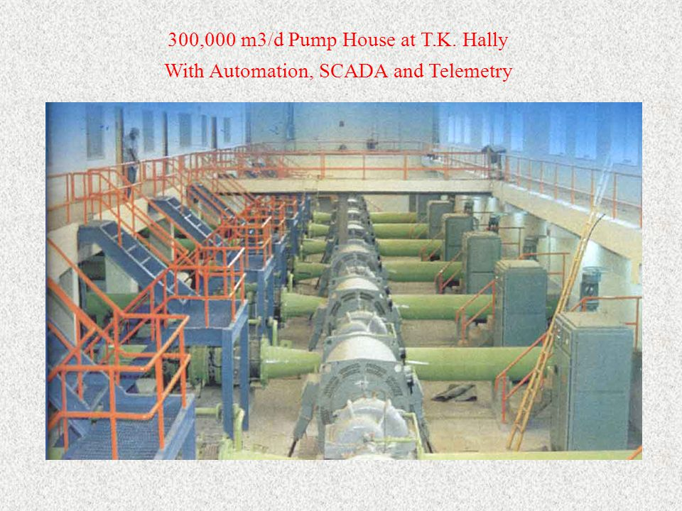 300,000 m3/d Pump House at T.K. Hally