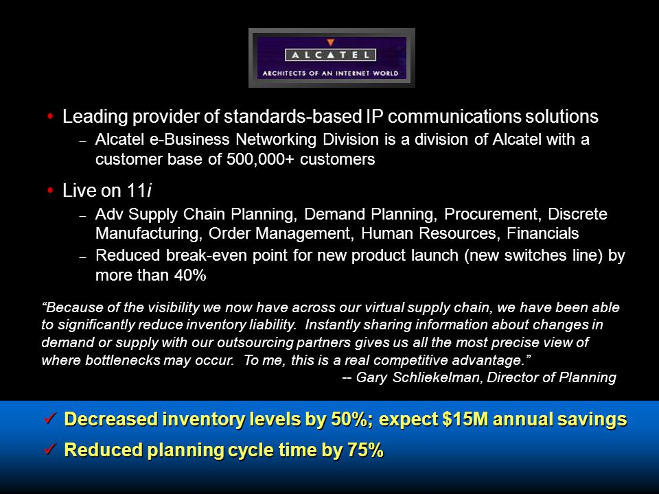 Leading provider of standards-based IP communications solutions