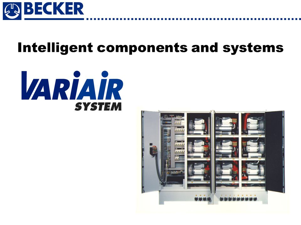 Intelligent components and systems