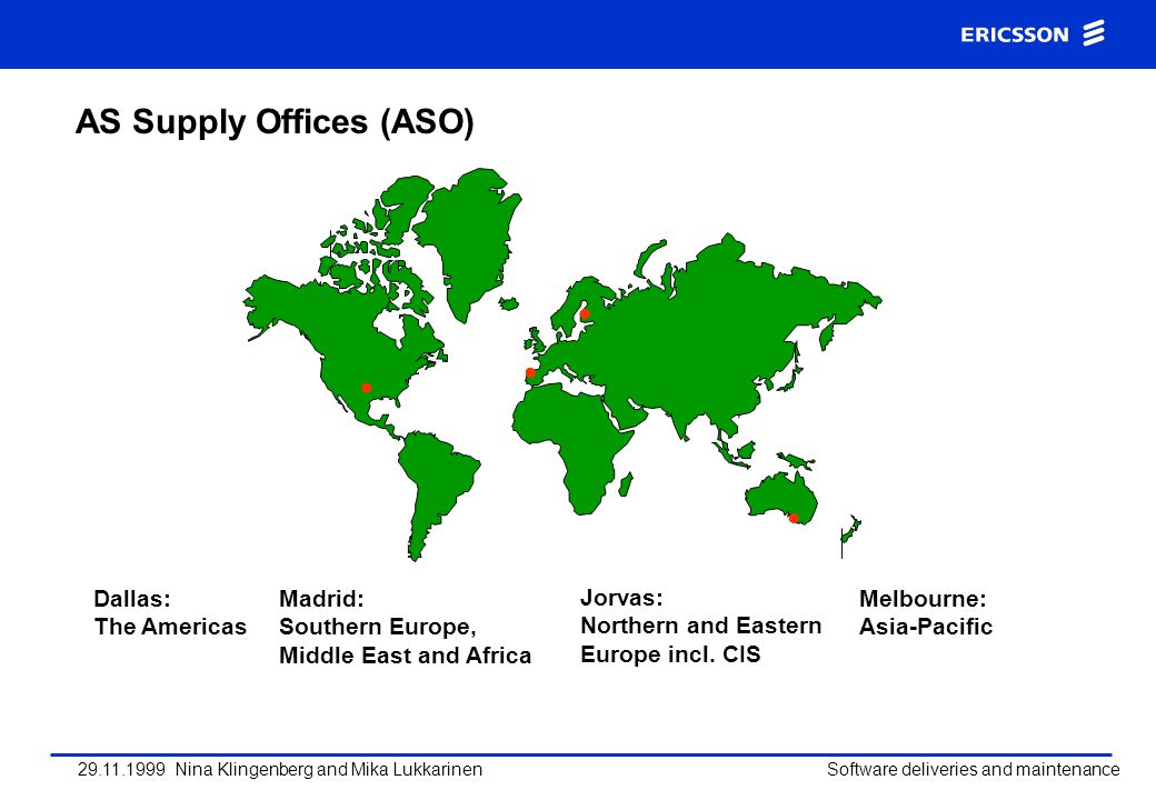 AS Supply Offices (ASO)