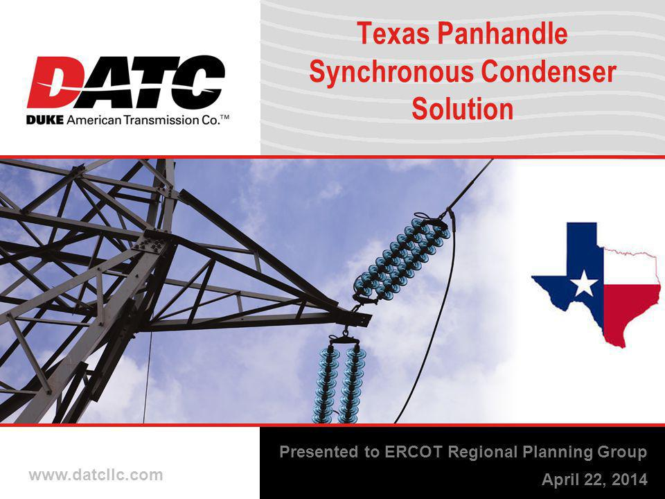 Texas Panhandle Synchronous Condenser Solution