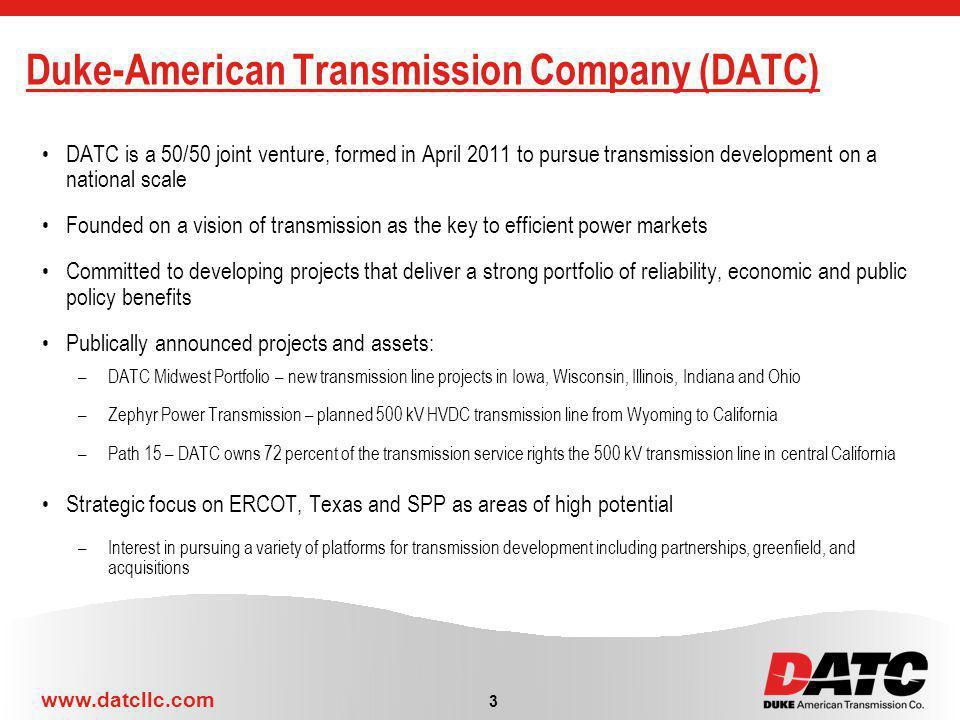Duke-American Transmission Company (DATC)
