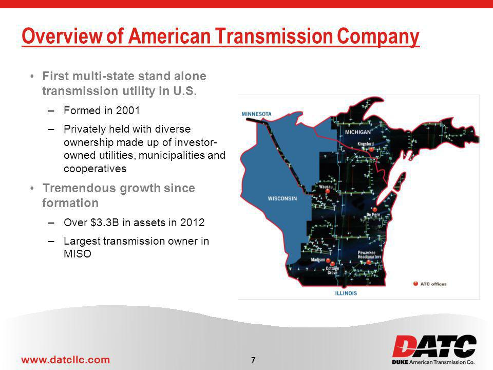 Overview of American Transmission Company