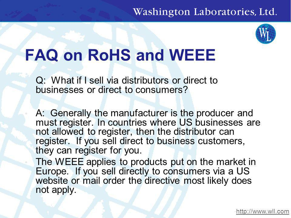 ROHS And WEEE Directives -After The Deadline- September