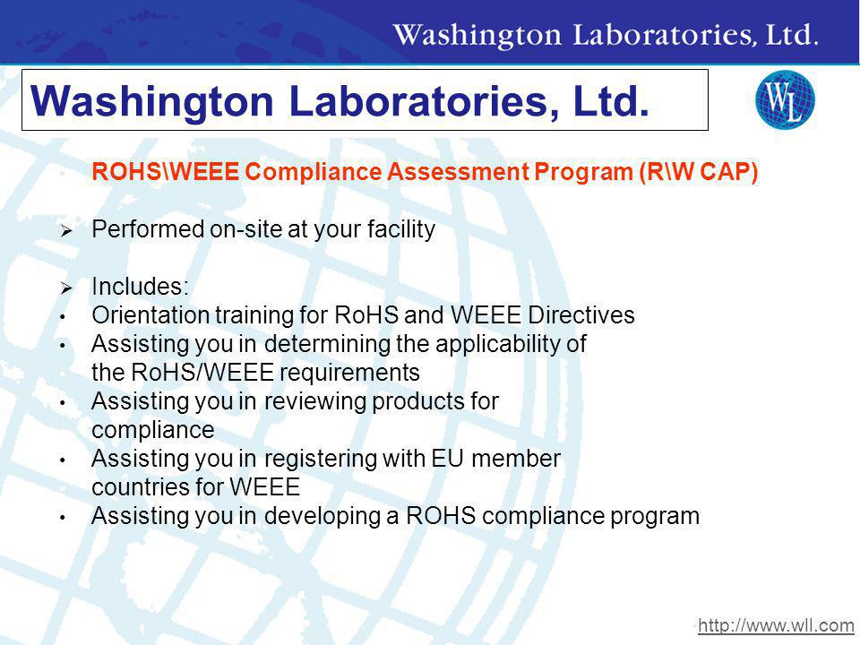 Washington Laboratories, Ltd.