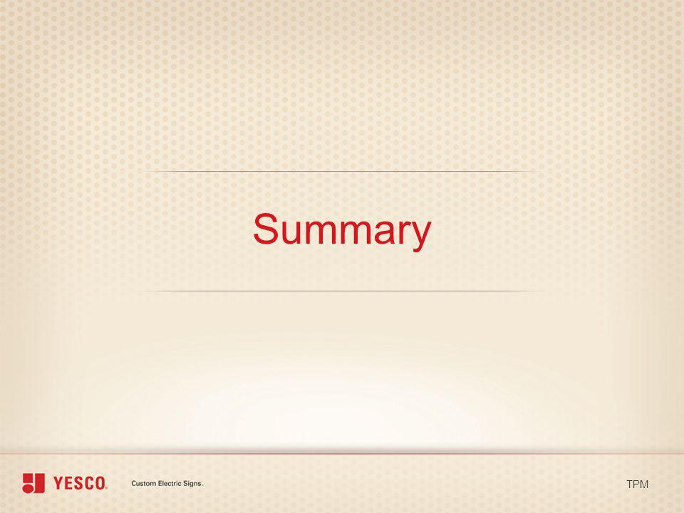 Summary TPM