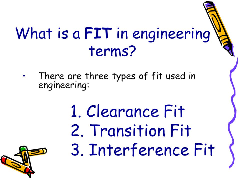 What is a FIT in engineering terms