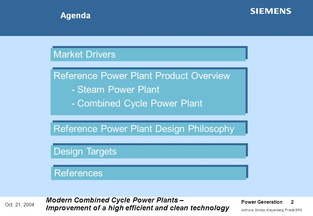 Reference Power Plant Product Overview - Steam Power Plant
