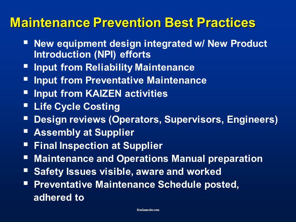 total productive maintenance manual pdf