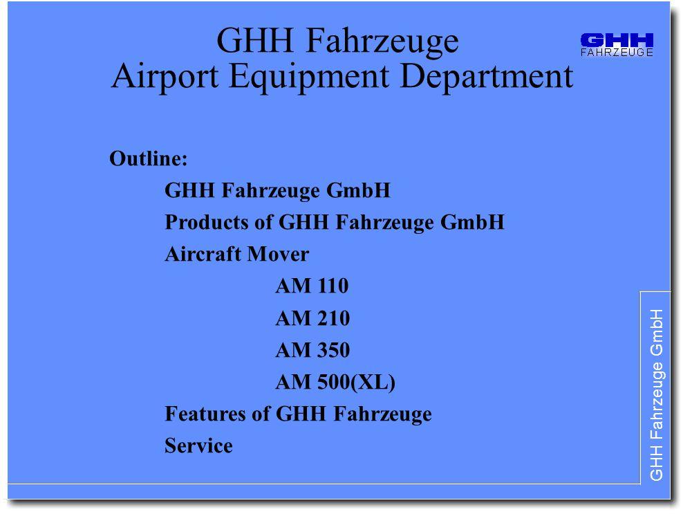 GHH Fahrzeuge Airport Equipment Department