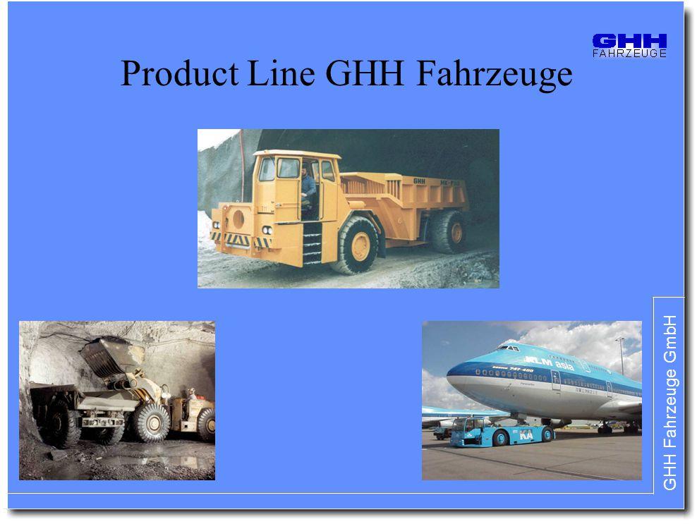 Product Line GHH Fahrzeuge