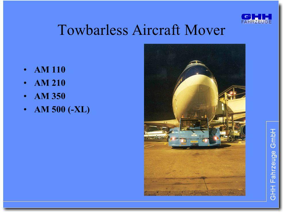 Towbarless Aircraft Mover