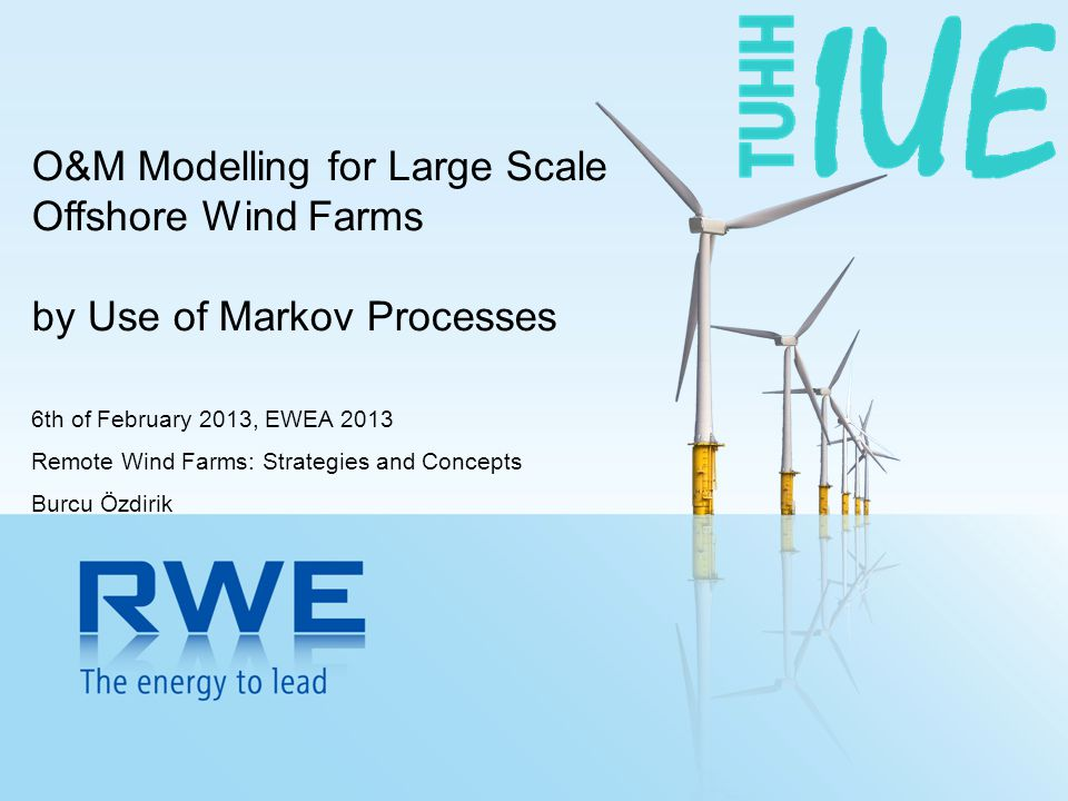 O&M Modelling for Large Scale Offshore Wind Farms