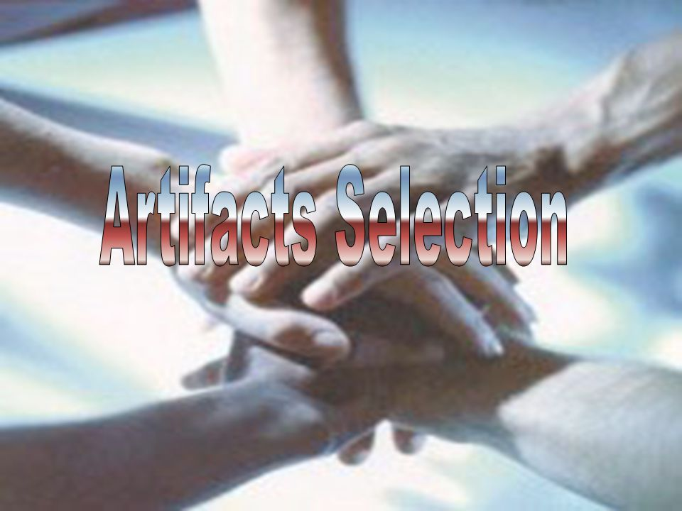 Artifacts Selection