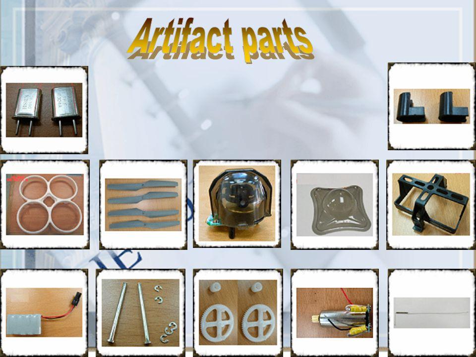 Artifact parts