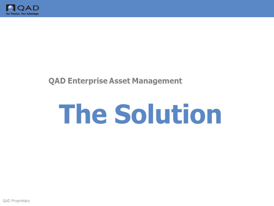 QAD Enterprise Asset Management