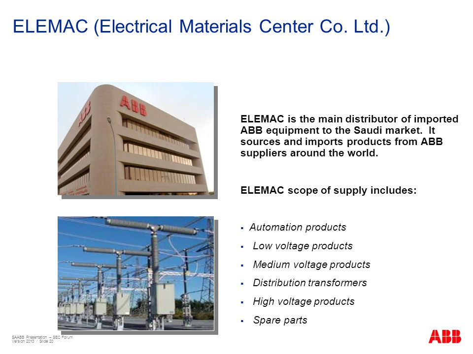 ELEMAC (Electrical Materials Center Co. Ltd.)