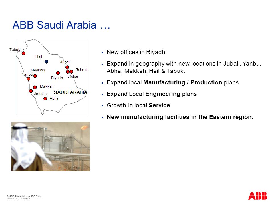 ABB Saudi Arabia … New offices in Riyadh