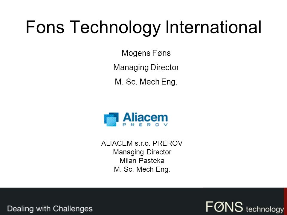 Fons Technology International
