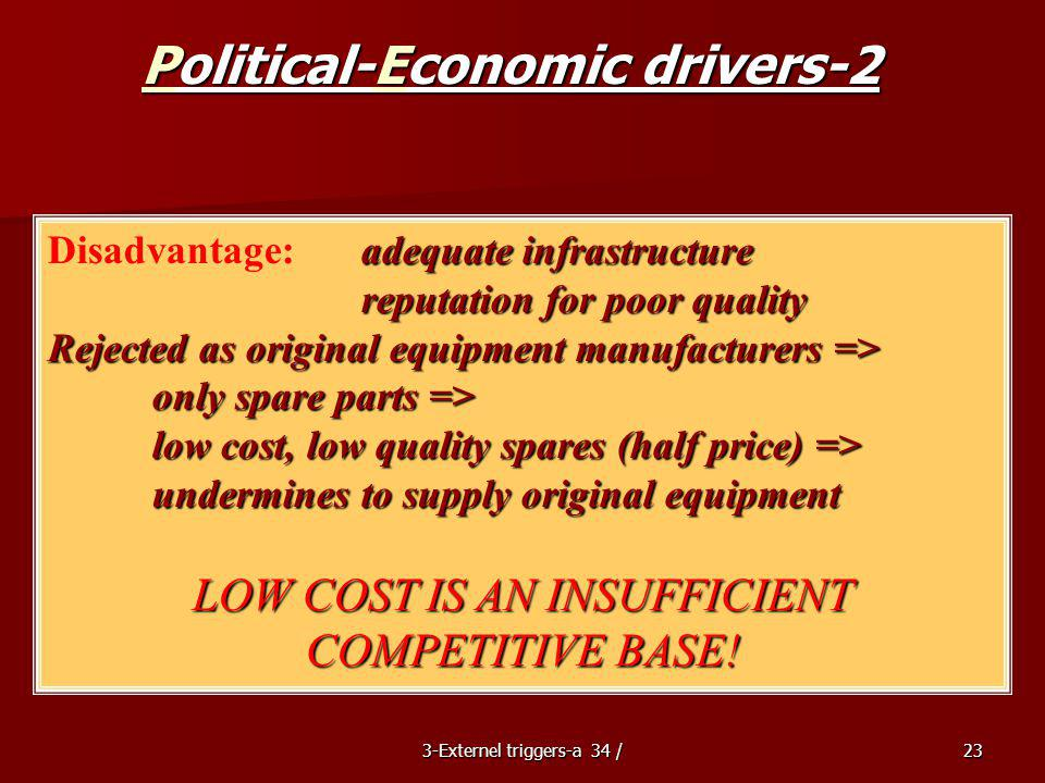 Political-Economic drivers-2