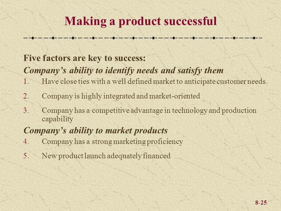 Making A Product Successful