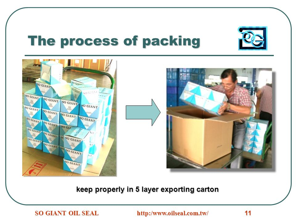 The process of packing keep properly in 5 layer exporting carton