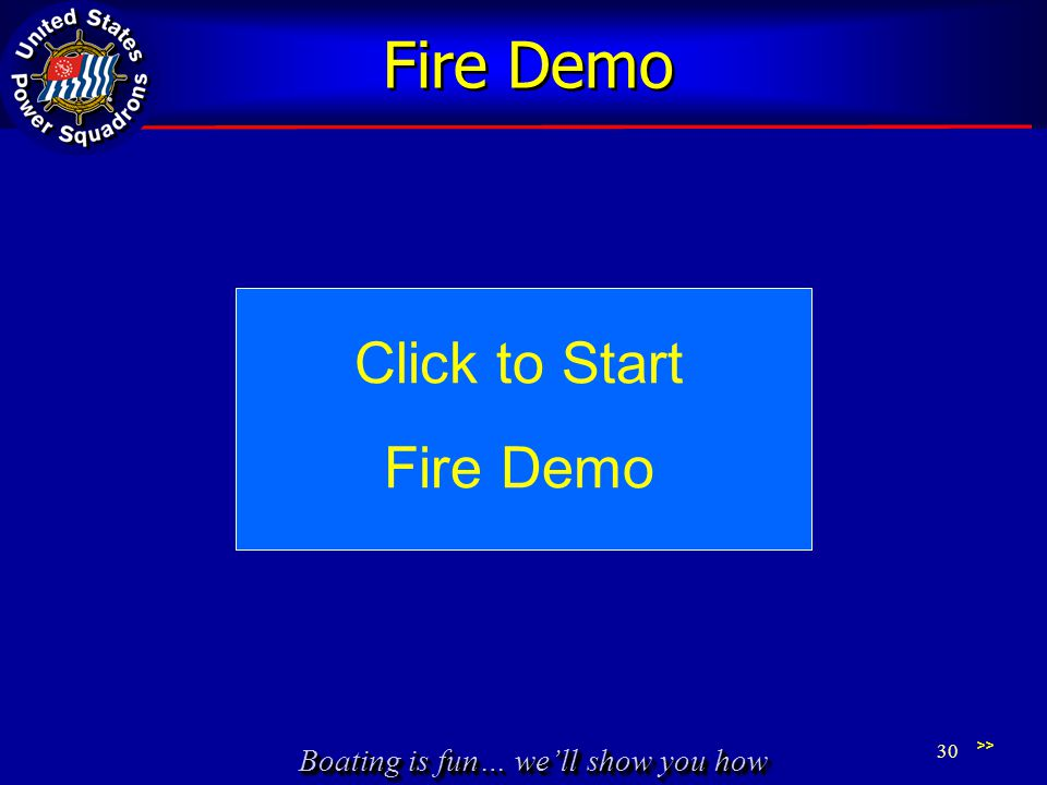Fire Demo Click to Start Fire Demo >>