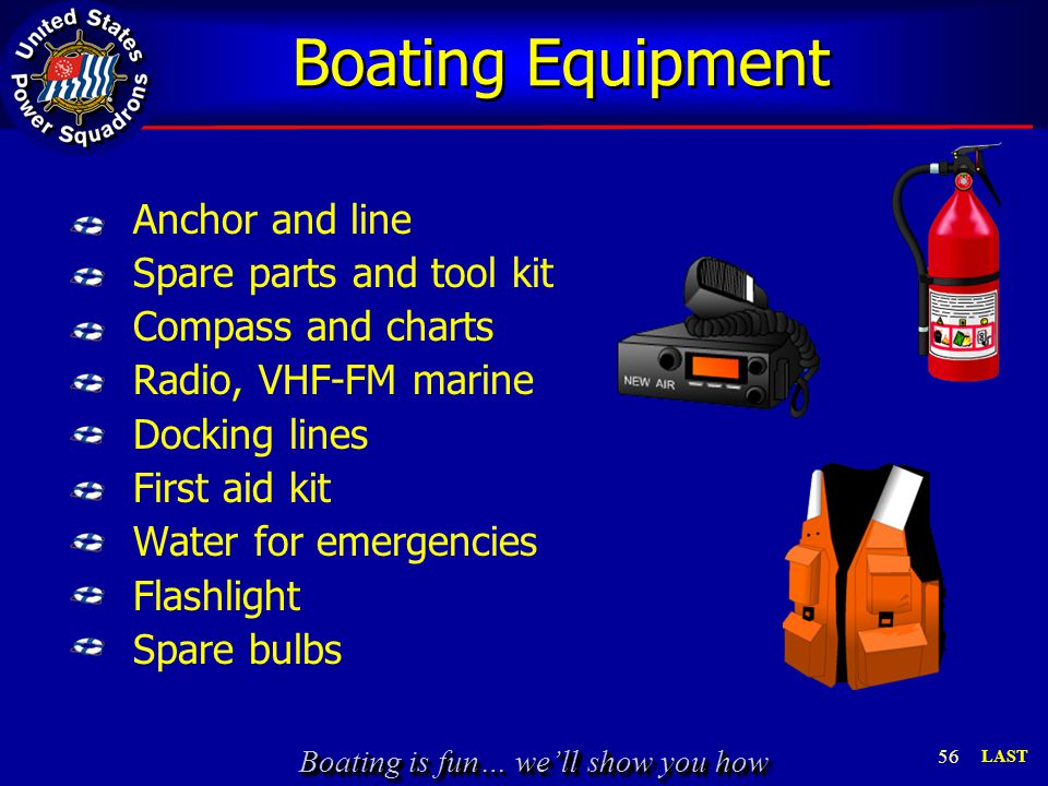 Boating Equipment
