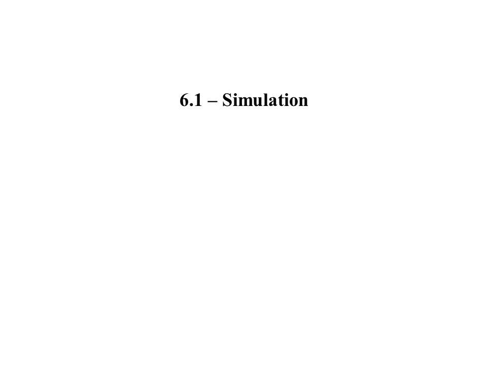 6.1 – Simulation