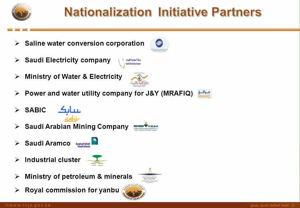Nationalization Initiative Partners