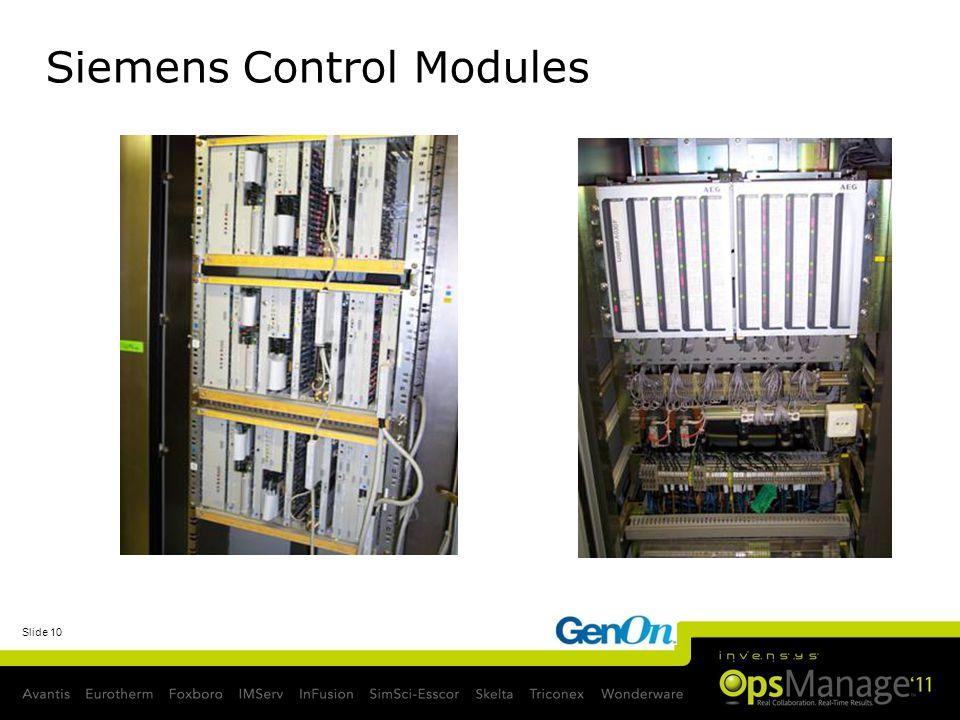 Siemens Control Modules