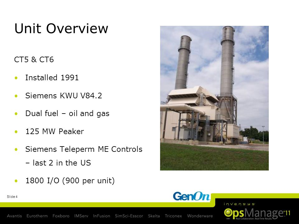 Unit Overview CT5 & CT6 Installed 1991 Siemens KWU V84.2