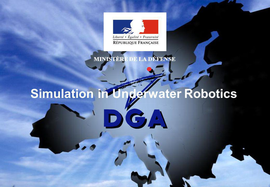 Simulation in Underwater Robotics