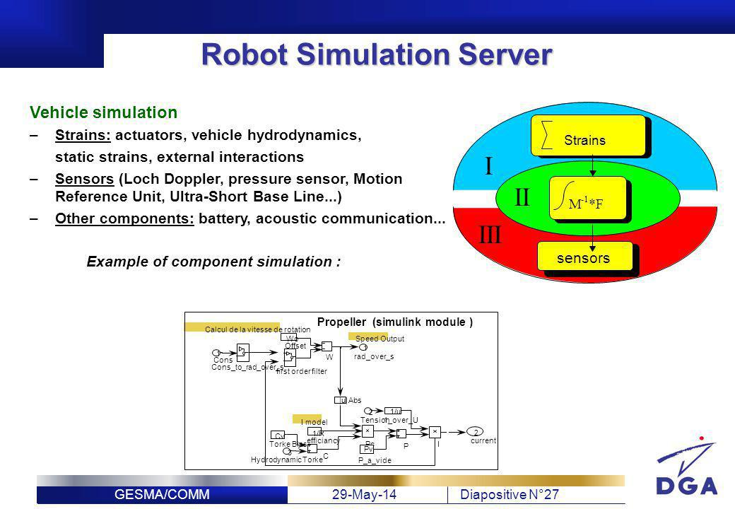 Robot Simulation Server