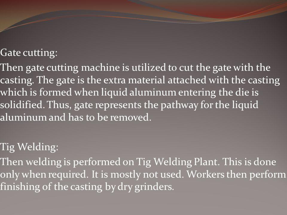 Gate cutting: