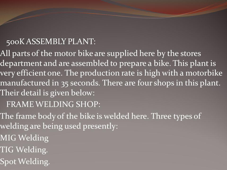 500K ASSEMBLY PLANT:
