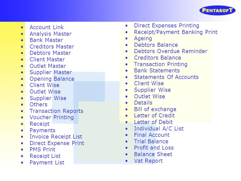 Direct Expenses Printing