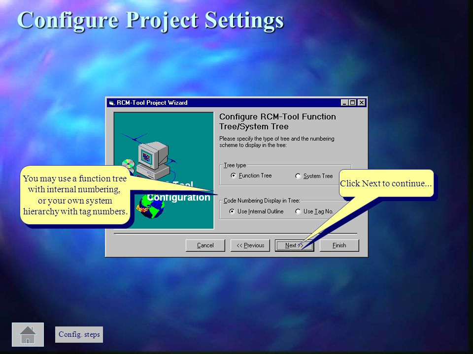 Configure Project Settings
