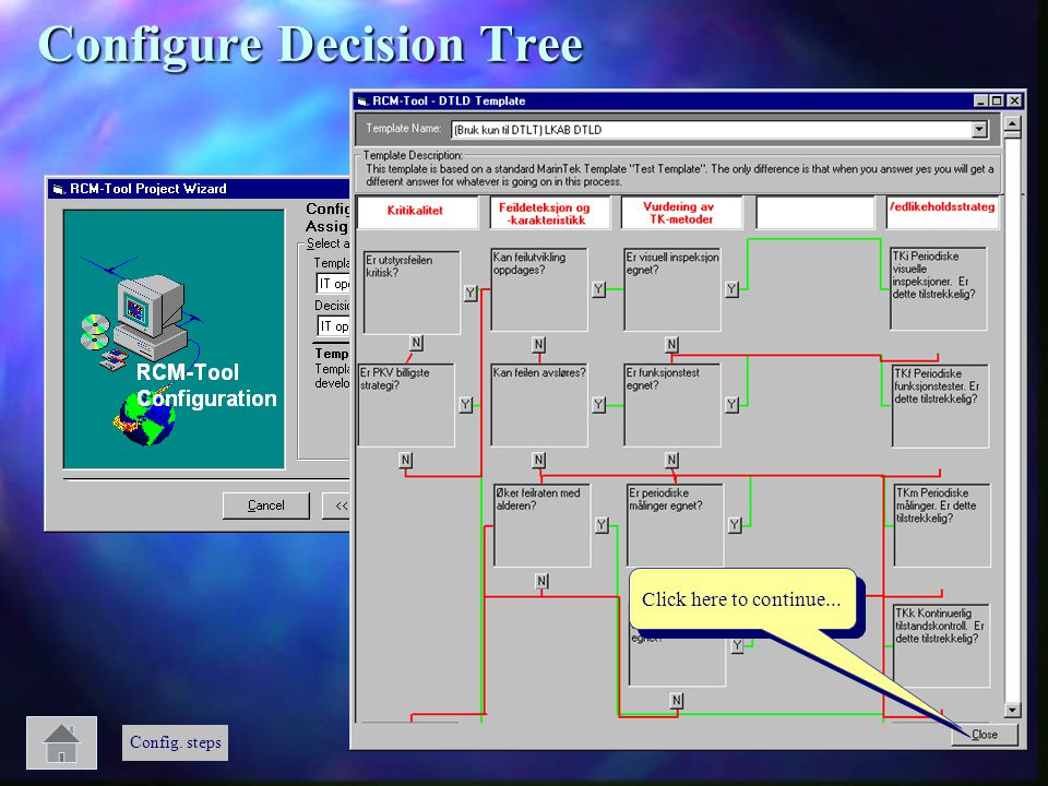 Configure Decision Tree