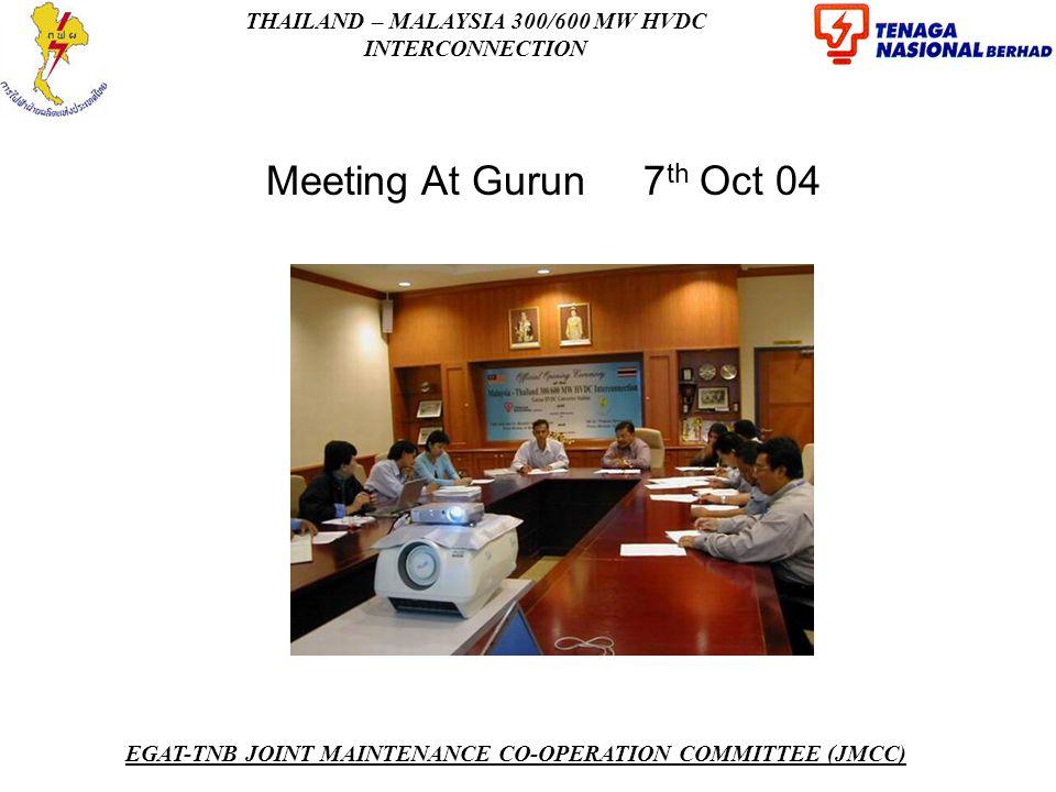 Meeting At Gurun 7th Oct 04