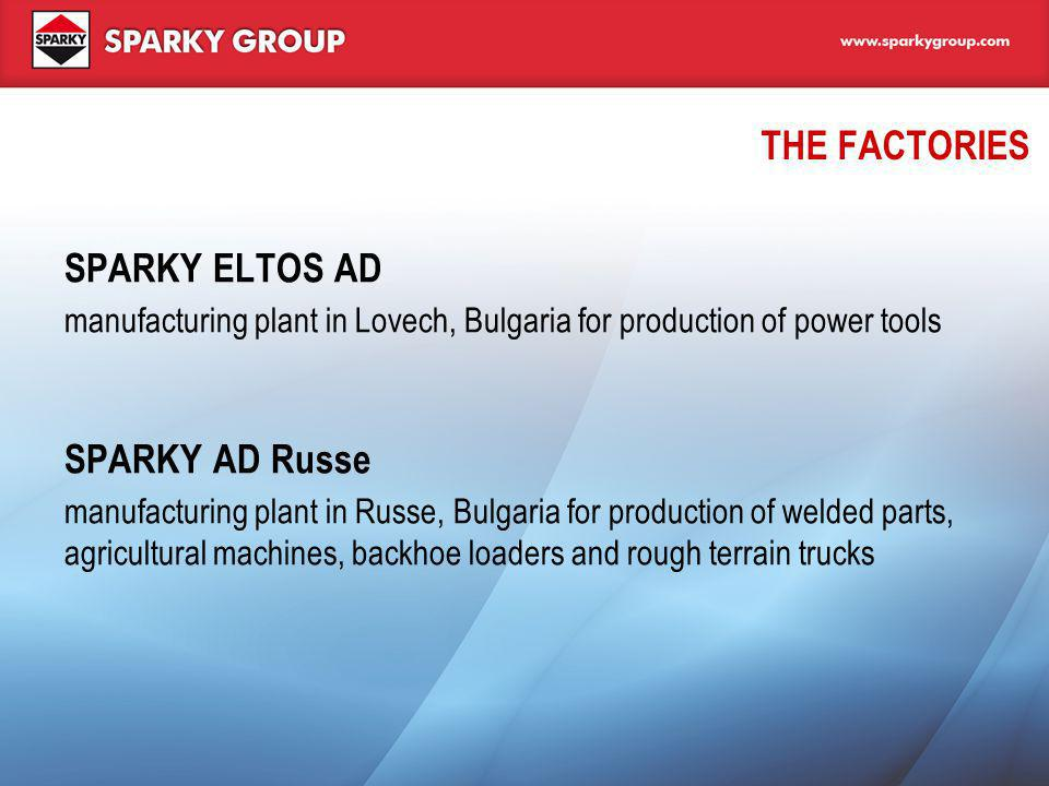 THE FACTORIES SPARKY ELTOS AD SPARKY AD Russe