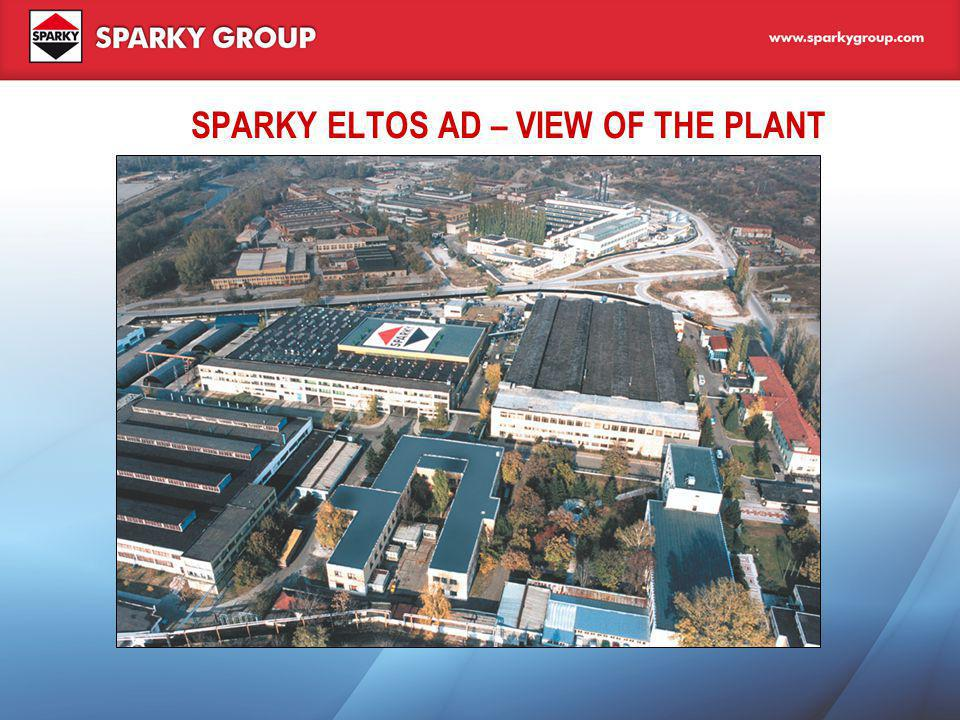 SPARKY ELTOS AD – VIEW OF THE PLANT