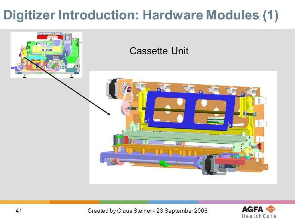 Digitizer Introduction: Hardware Modules (1)